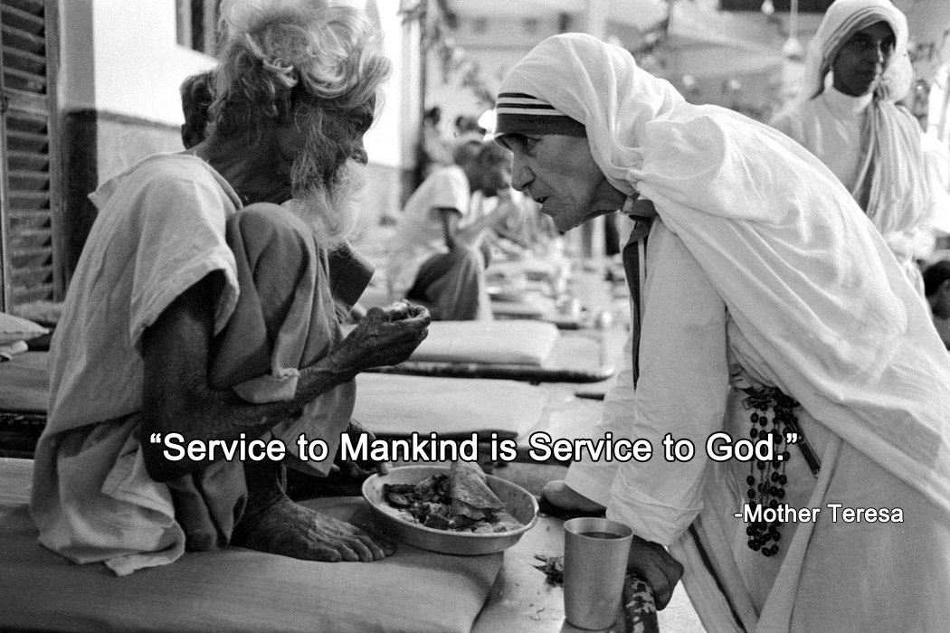 Service to Mankind is Service to God.